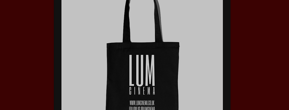 LUM CINEMA TOTE BAG