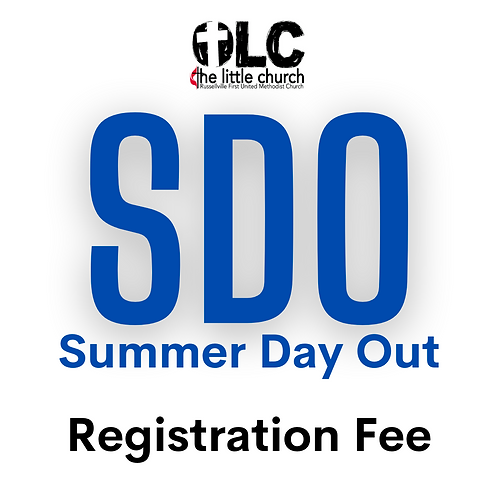 Summer Day Out Registration ($25 + $2.50 processing fee)