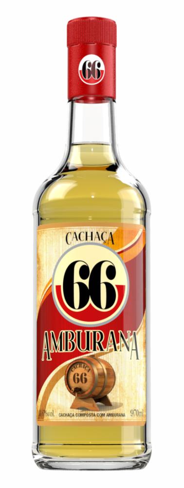 CACHAÇA 66 AMBURANA