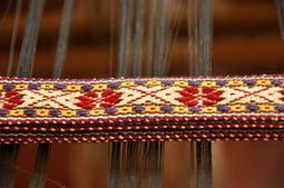 national costume belts, hand craft textiles, woven belt, handmade textiles, weaver studio, made in Latvia, Kuldiga, textile artists Ziedonis and Inara Abolini