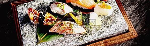 Sushi combo, Schotel