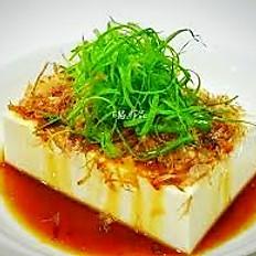Hiyayakko tofu (gekoelde tofu)