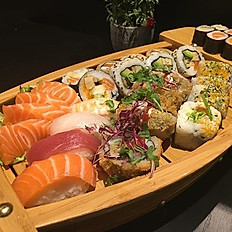 Studenten sushi maki mix (boot ) 32st  voor 2ps