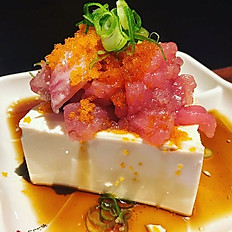 Sashimi tofu salade