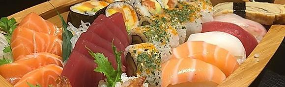 Sushi sashimi boot 1-4 ps
