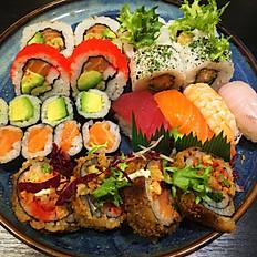 Sushi combo tempura 24st