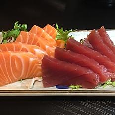 Sashimi zalm / tonijin 10st