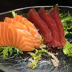 Sashimi zalm/tonijin 6st