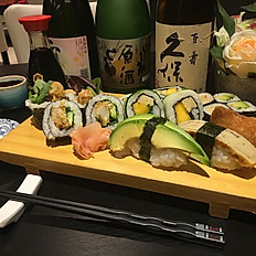 Vegetarisch sushi combo 18st