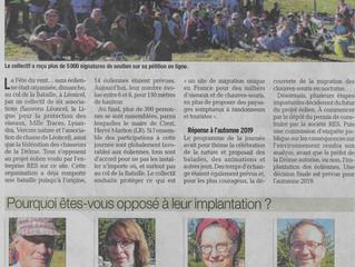 PRESSE : Le Dauphiné Libéré parle de la Fête du vent