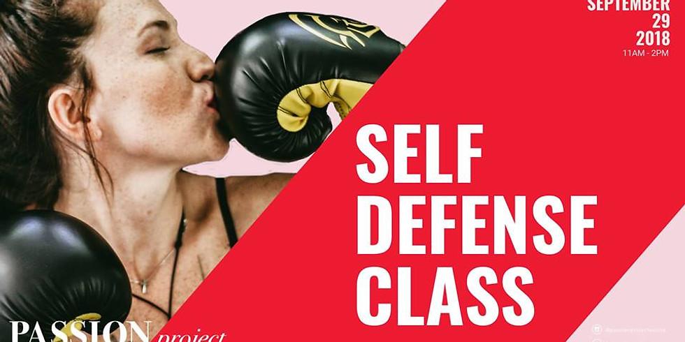 Passion Project Self Defense Course
