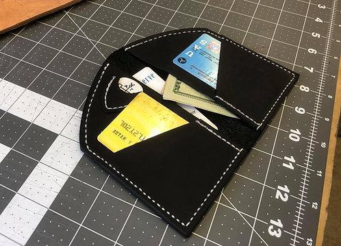Black Front Pocket Pick Pocket Wallet