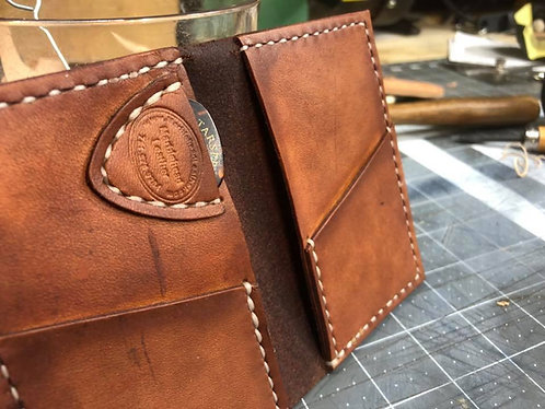 Back Pocket Wallet with Pick Pocket