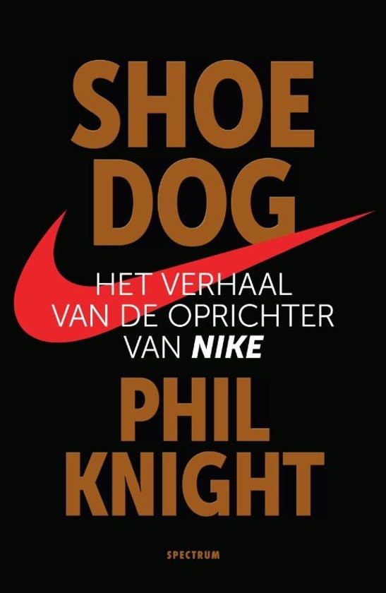book cover shoe dog
