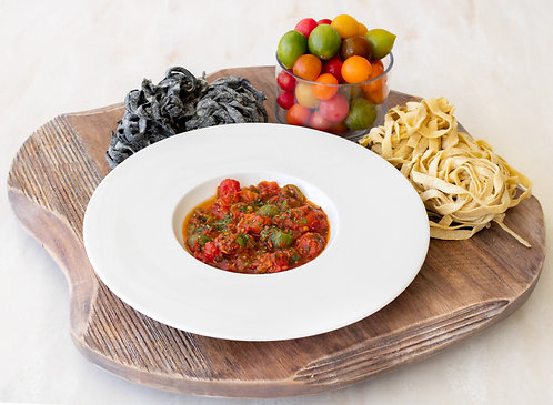 PASTA KIT FOR FOUR: CHERRY TOMATO BRAISE