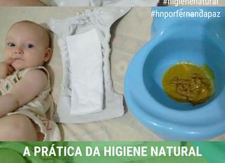 Higiene Natural com Fraldas de Pano