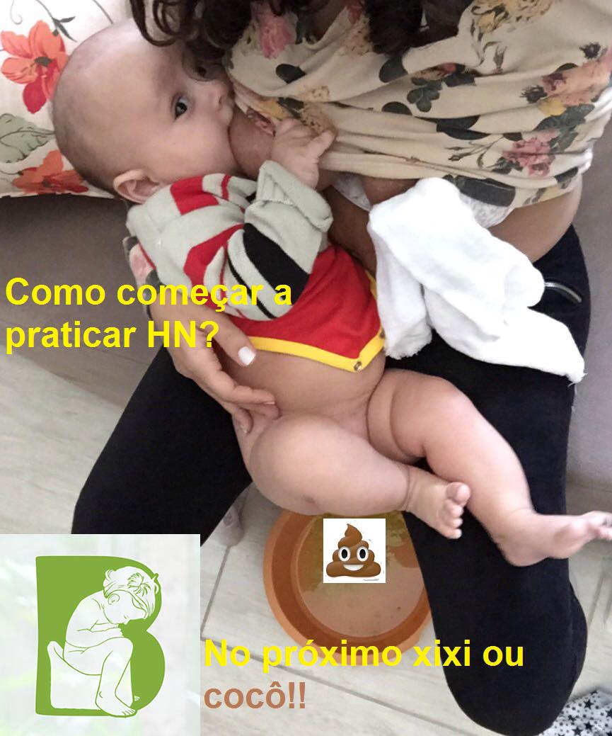 Cocô durante a mamada