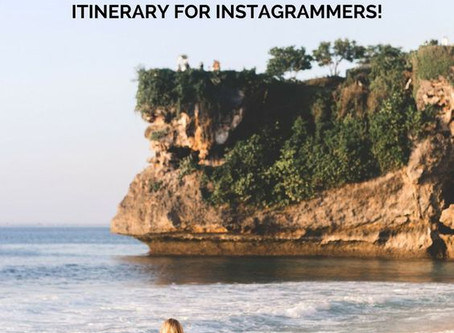 An epic 7 day Bali Itinerary for Instagrammers.
