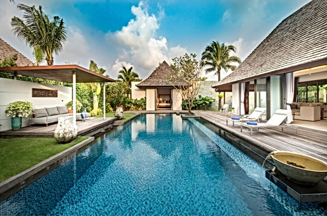 Gorgeous 4 four bed pool villa at layan beach, Phuket