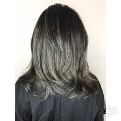 Grey 🖤Babe #silverhair #greyhair #first
