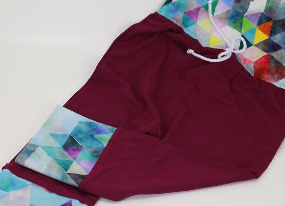 Pantalon évolutif / Triangles colorés
