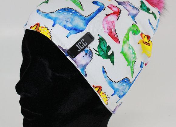 Tuque de coton / Dino-colorés