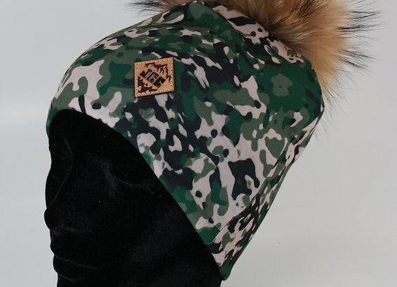 Tuque de coton / Armée