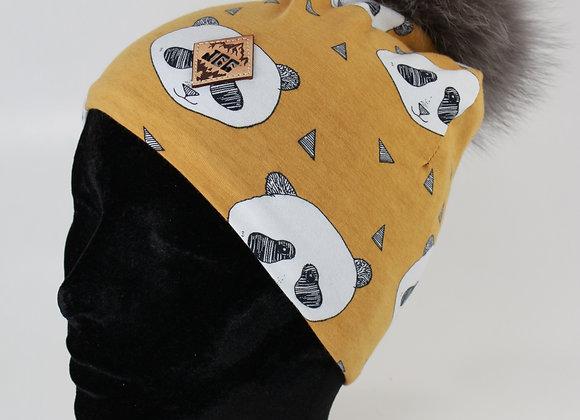 Tuque de coton / Panda