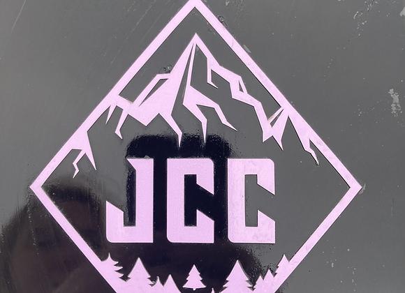 Étiquette collante JCC