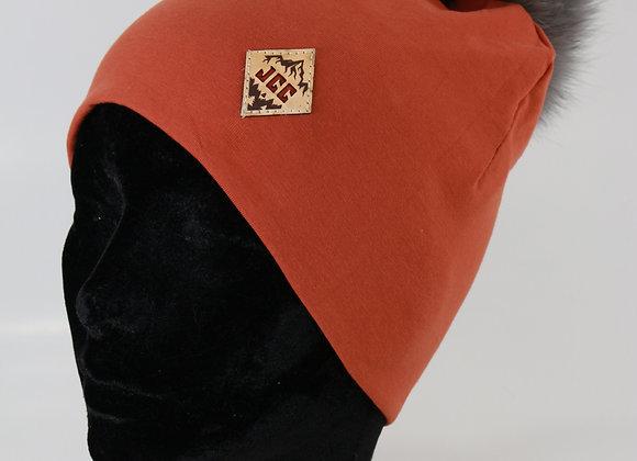 Tuque de coton /Rouille
