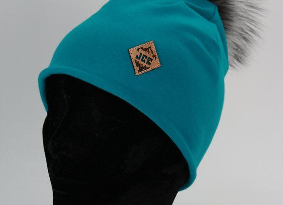 Tuque en coton / Turquoise