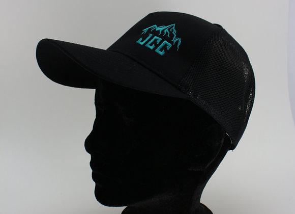 Casquette / Turquoise / Logo sur le côté