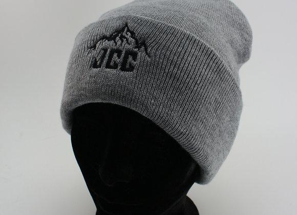 Tuque en lainage UNISEXE / Gris pâle