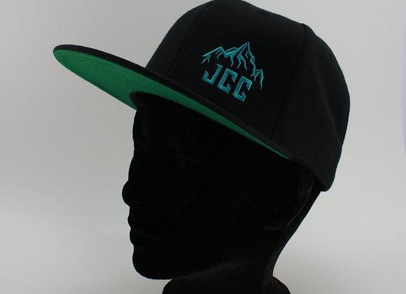 Casquette / Turquoise / Palette droite / Logo sur le côté