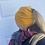 Thumbnail: Tuque queue de cheval / Jaune