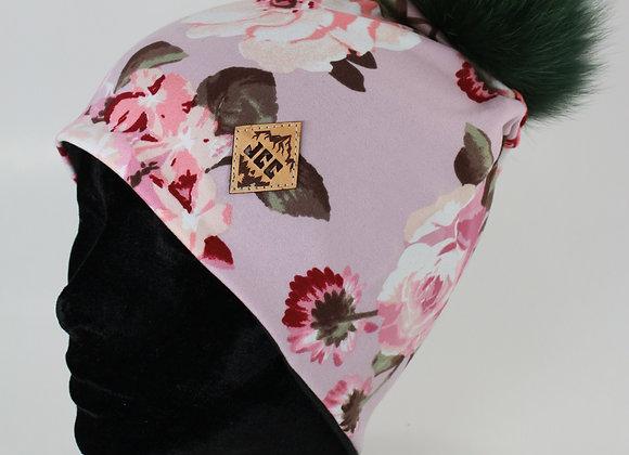 Tuque de coton / Rosier