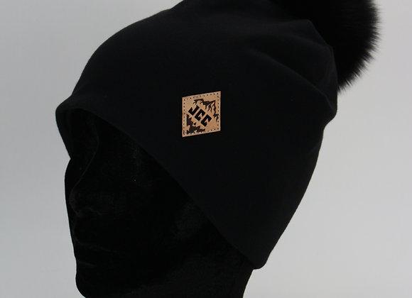 Tuque de coton // Noir