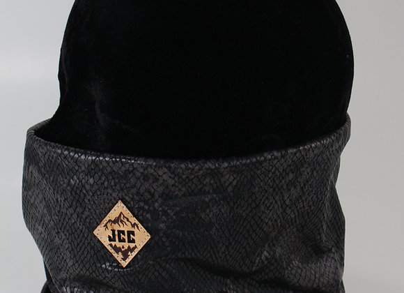 Cache-cou / Cuirette noir