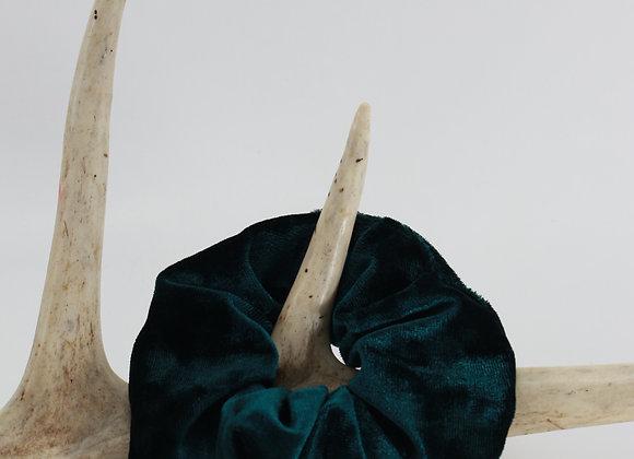 Chouchou JUMBO / Velours vert
