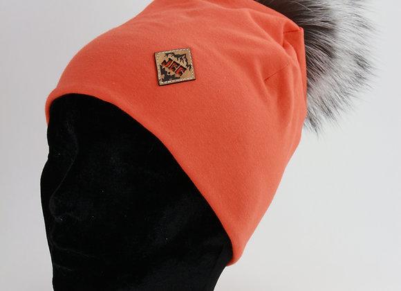 Tuque de coton /Orange chasse