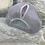 Thumbnail: Casquette / Grise - logo rose