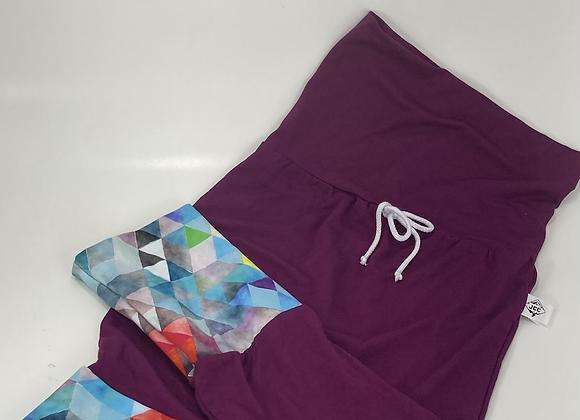 Pantalon évolutif / Mauve
