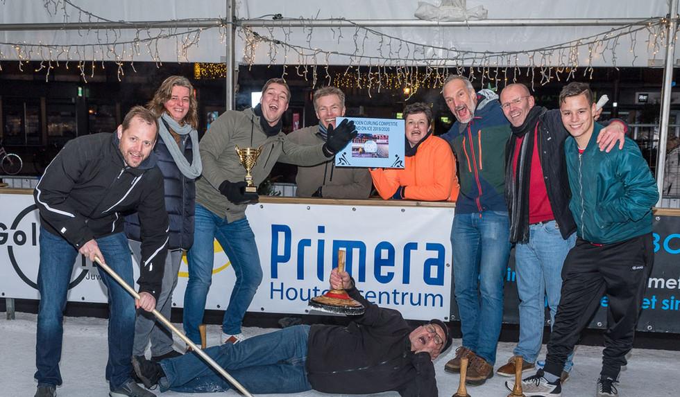 Winnaars Curling Competitie - Primera HT