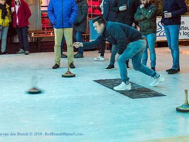 Curling Competitie Rond on Ice