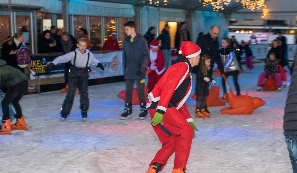 Santa Run - Rond on Ice
