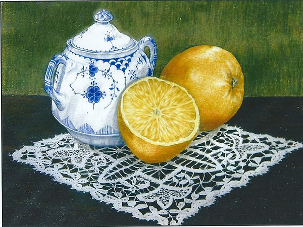 A limited edition iclee print from an original still life