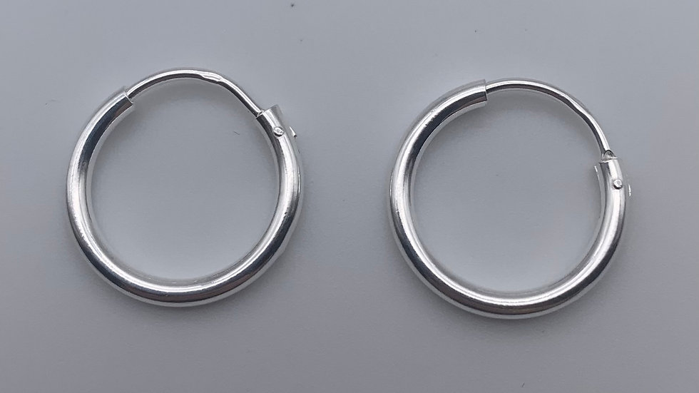Silver top hinged sleepers