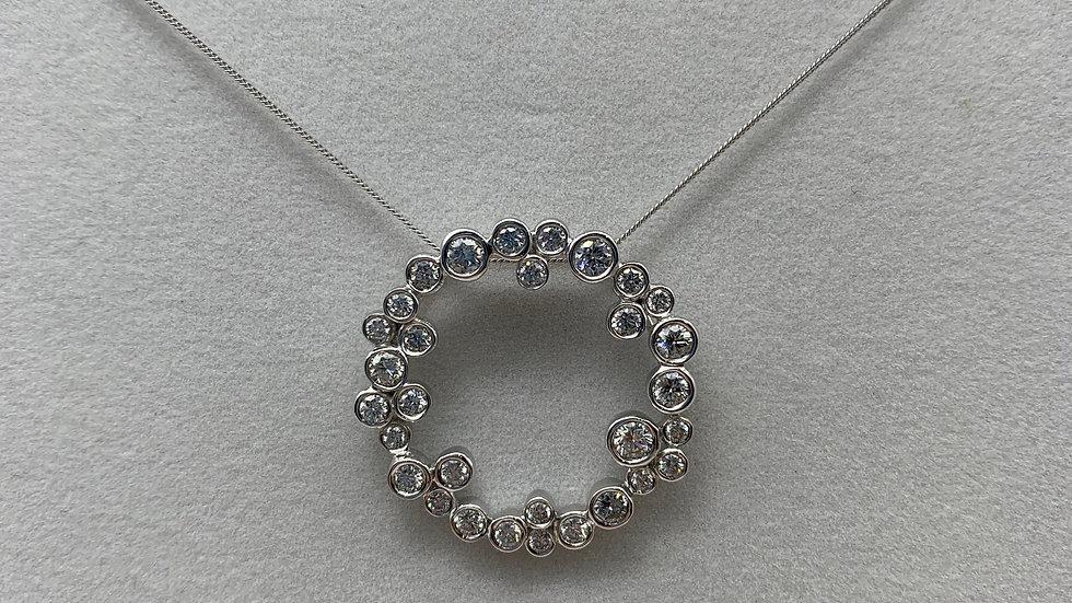 18ct white gold Diamond necklace