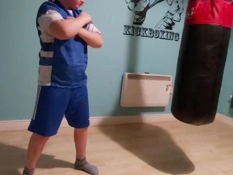 Kick-boxing extraordinaire!