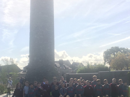 6th class trip to Round Tower